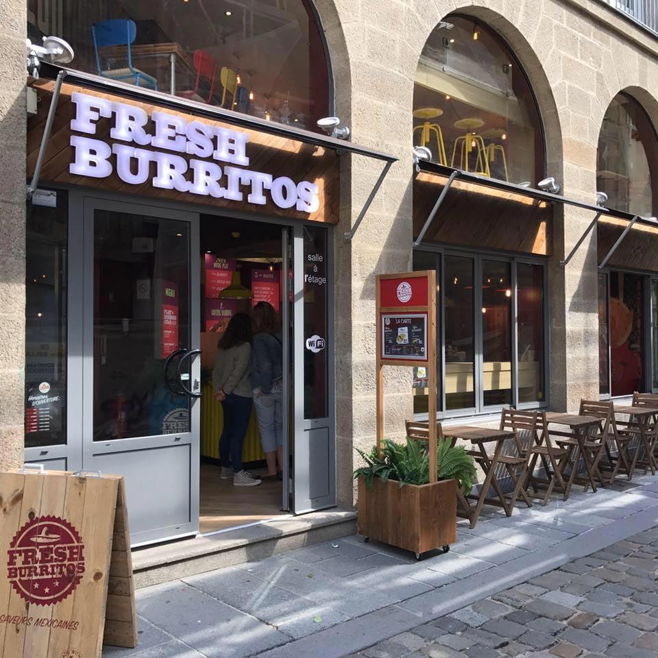 photos nouveau restaurant fresh burritos Rennes