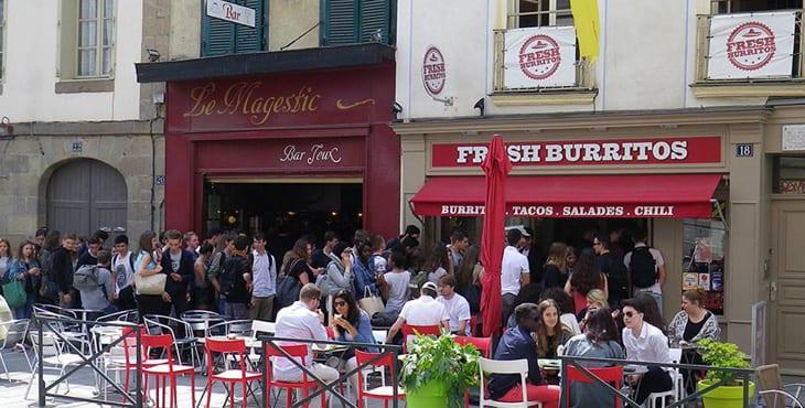 restaurant fresh burritos Rennes