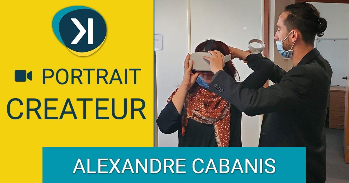 PORTRAIT CRÉATEUR ENTREPRISE ALEXANDRE CABANIS